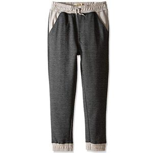 Kid's Boy's Two Tone Jogger Sweatpants